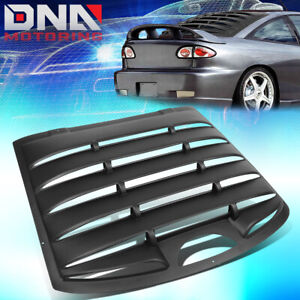 FOR 1995-2003 CAVALIER SUNFIRE ABS REAR WINDSHIELD LOUVER SUN SHADE COVER PANEL