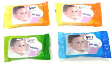 4 Packs Travel Size 10 Pack Baby Wipes Fits Purse Diaper Bag