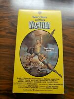 National Lampoon's Vacation 1983 VHS Tape Warner Bros. Tested Chevy Chase Comedy