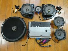 Bose 9-Piece Car Sound System *Powered* Speakers Cadillac STS 2004-2011