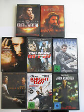 8x TOM CRUIS - DVD Set BOX - Last Samurai, Jack Reacher, Knight Day, Obilivion..