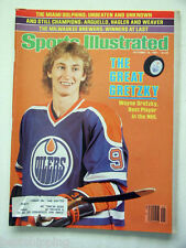 Oct 12, 1981 Sports Illustrated Wayne Gretzky  Oilers The Best Player In The NHL