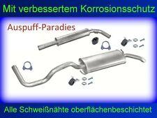Abgasanlage Auspuff VW Polo III 1.4 (54PS & 60PS) Classic & Variant / Kombi +Kit