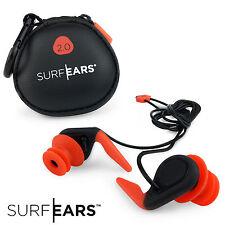 SURF EARS Ear Plugs 2.0 Watersports Surfing Swimming Earplugs Surfers Kayak Sail