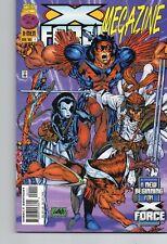 X-FORCE Megazine # 1 Domino 1996 Liefeld Reprint 1st Deadpool New Mutants 98