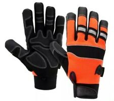 West Chester Safety Gloves Orange Pro Series Synthetic Leather Glove Size Large