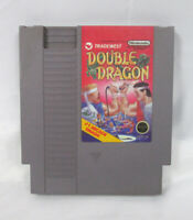 Authentic NES Nintendo Entertainment System Double Dragon Video Game Tested