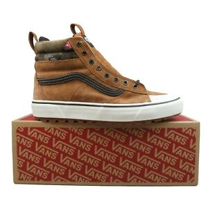 Vans Sk8-HI MTE 2.0 DX All Weather Sneakers Brown White NEW Mens Multi Size