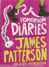 #1 HOMEROOM DIARIES James Patterson NEW Illustrated Diary BOOK Kids HUMOR