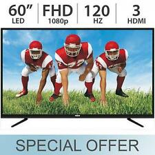 "RCA 60"" Inch FULL HD 1080p LED LCD TV 120Hz w/ 3 HDMI RLED6090 - NEW"