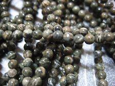Zebra Jasper Round Beads 3mm 134pcs
