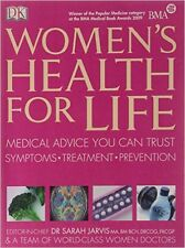 New Women's Health For Life by Dr Jarvis :Medical Advice You Can Trust AUship