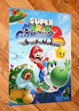 Super Mario Galaxy 2 / Pokémon HeartGold and SoulSilver Rare Poster  Wii, Wii U