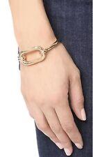 Pamela Love X Shinola Beaumont Cuff Bracelet Brass Open Rectangle Center NEW