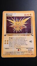 Carte Pokemon ELECTOR 15/62 Holo Fossile Française EDITION 1