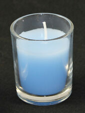 Baby Boy Light Blue Wax Votive Tealight Candle Christening Memorial BUY QTY RQED