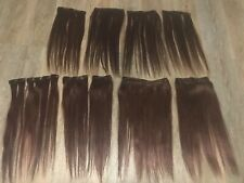 ExtraTHICK Clip In Remy Real Human Hair Extensions Full Head 18 piece set