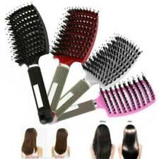 Salon Professional Bristle & Nylon Hairbrush Scalp Massage Comb Wet Hair Brush!!