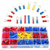 300Pcs Assorted Crimp Terminals Set Insulated Electrical Wiring Connector Kit