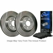 Centric 2-Wheel Set Brake Disc and Pad Kits Front New for Toyota BKF104447