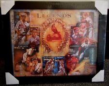 ST LOUIS CARDINALS WORLD SERIES LEGENDS FRAMED PRINT 5000943