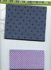 NINE PIECES Blue 100% Cotton Quilting Quilt Shop Fabric Remnants!!