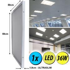 LED Tageslicht Decken Panel Wohn Büro Raum Einbau Lampe Raster Leuchte ultraslim