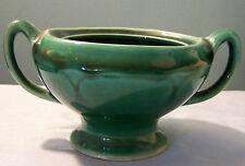 Green Gloss Sugar Bowl No lid USA