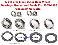 Rear Wheel Bearings, Races, and Seals For 1965-1982 Chevrolet Corvette a Set of