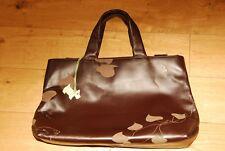 Radley Chocolate Brown Leather Tote Handbag in Original Protective Bag