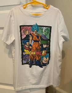 Boy's OLD NAVY Dragon Ball Z Super Saiyan Goku Anime Graphic Tee T-Shirt L