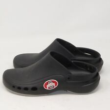 OHIO STATE Slip On Navy Blue Nylon Sport Sandals Size 11 Ankle Strap Water Shoe