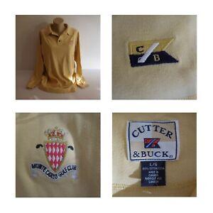 Polo jaune Monte-Carlo Golf Club Monaco CUTTER & BUCK sport collection N4176