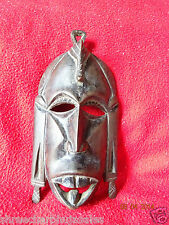World Rare Original Antique African Tribal People Liberian Hand Carved Wood Mask