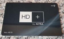 * TOP * HD+ Karte by ASTRA - HD 03 - wiederaufladbar - ohne Guthaben * TOP *
