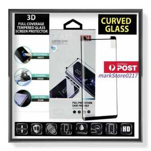 MB* 9H 3D Edge Curved Full Coverage Tempered Glass Screen Protector For Samsung