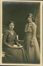 Two Edwardisn Ladies Fashion Studio   RL.458