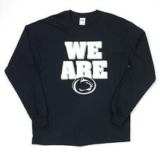 Penn State Nittany Lions Men's L/S We Are Shirt Navy Blue Size 2XL NWT