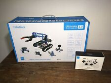 Makeblock Ultimate 10 In 1 Robot Kit 2.0 Mblock Work iOS Or Android Bluetooth
