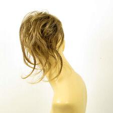 postizo coletero peruk cabello castaño con mechas dorado ref: 22 en 6t24b