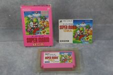 Famicom Super Mario Bros USA boxed Japan FC game US Sellerr