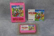 Famicom FC Super Mario Bros USA boxed Japan import games US Seller