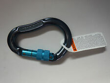 OMEGA PACIFIC rock climbing locking carabiner  NEW jake screw-lok screw lok