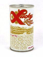 1970s Walter Pueblo Colorado Lucky Lager Beer 12oz Can Tavern Trove
