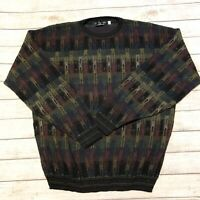 Vintage 90s Protege Collection Sweater Coogi Style Biggie Bill Cosby Size 2xl