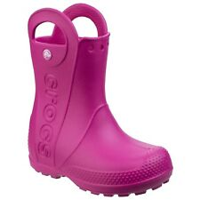 Crocs Handle IT Rain Boot Stivaletti Unisex - Bambini Rosa (candy Pink) 34-35