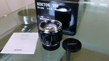 Voigtlander 50mm f/1.2 Nokton VM Aspherical Lens, Leica M