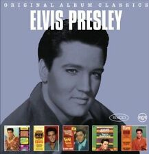 ELVIS PRESLEY At The Movies 5CD NEW Blue Hawaii/Pot Luck/Girls!/Acapulco/Viva