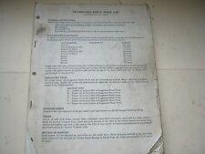 TRIUMPH-BSA PARTS PRICE LIST 1975