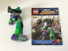 LEGO DC 6862 Superman vs. Power Armor Lex Partial Set/Replacement w/ Manual